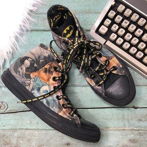Rare CONVERSE Sneakers 7/5 BATMAN DC comic